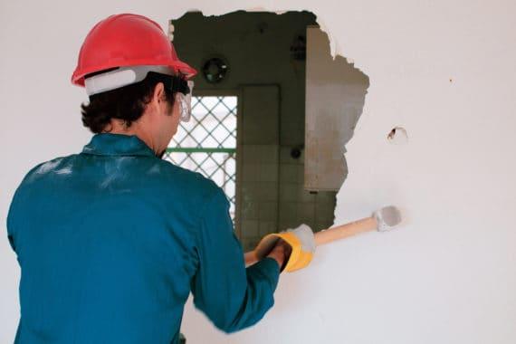 Destruction de mur