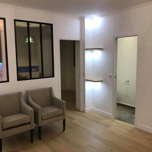 rénovation lourde d'appartement