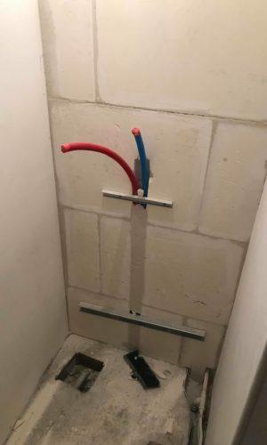travaux de plomberie salle de bain