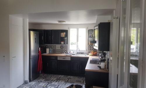 rénovation cuisine et carrelage